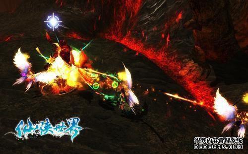 《神仙道私服》游戏宗门声援免费复活